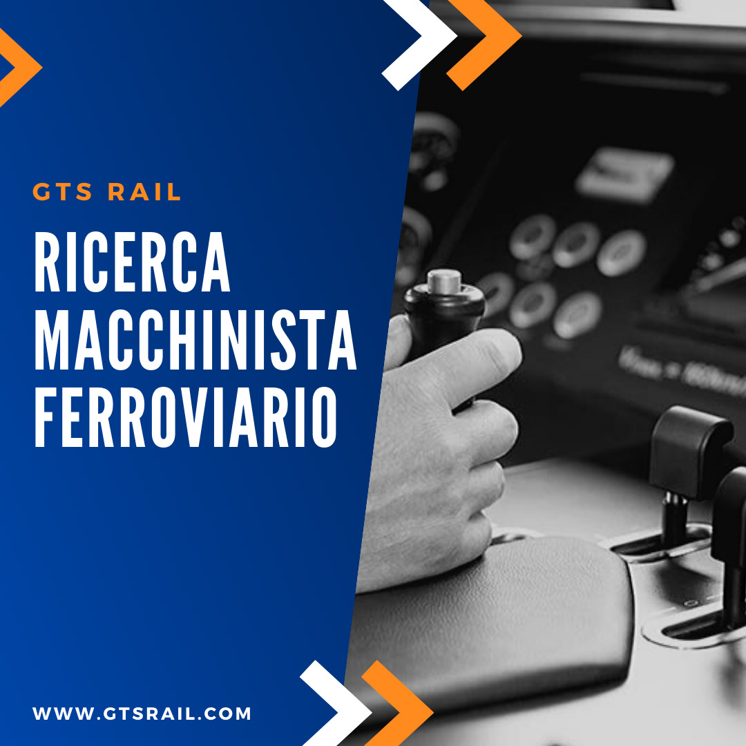 GTS Rail macchinista